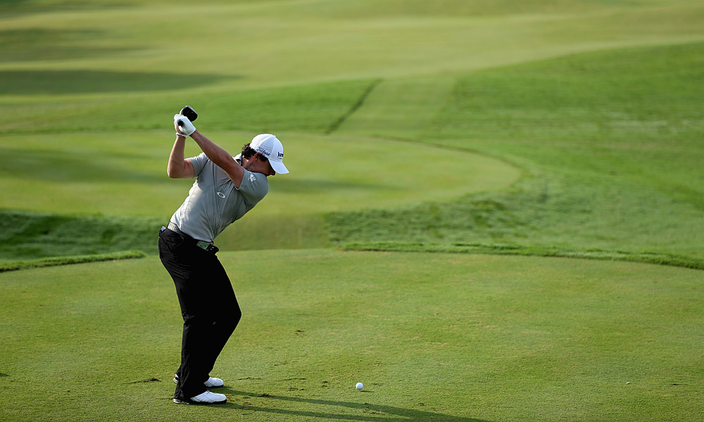 McIlroy lost to Charl Schwartzel, who birdied three of the last four holes. Schwartzel also defeated Woods on Tuesday.