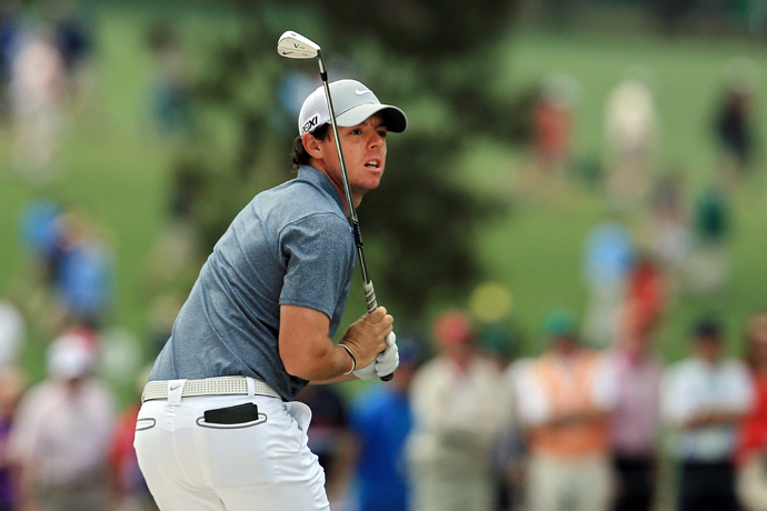 Rory McIlroy went 79-69 over the weekend.