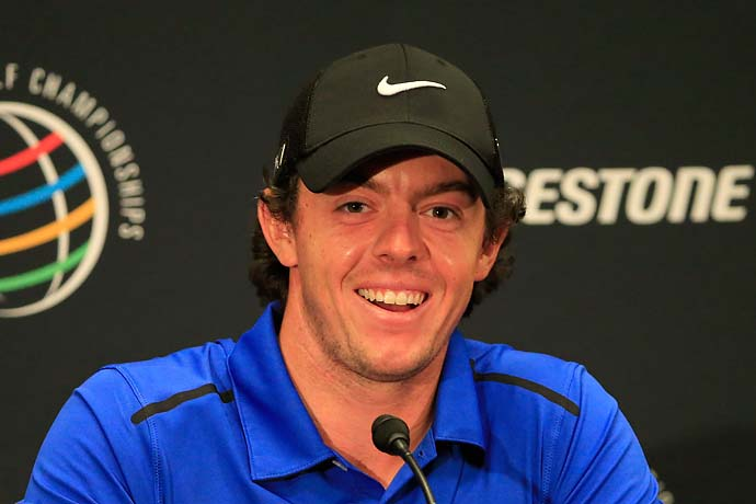"""I was 7‑under for the last seven when we played Holywood.""                           --Rory McIlroy on playing his home course in Northern Ireland with friends last week."