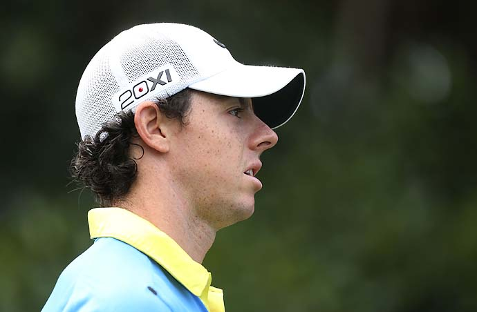 """I won a major in 2011 and 2012 but not in 2013, so I'll try to make up for that with two this year.""                            --Rory McIlroy on trying to bounce back after a disappointing 2014."