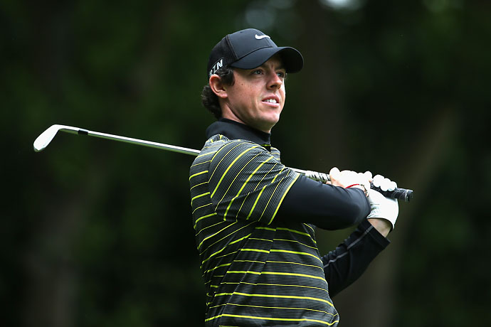 """I'm not exactly sure how I'm feeling right now, to be honest.""                       --Rory McIlroy on his emotions after winning the European PGA Championship the same week that he broke up with fiancee Caroline Wozniacki."