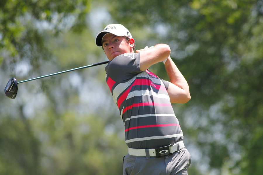 Rory McIlroy is making his first start since the Masters.