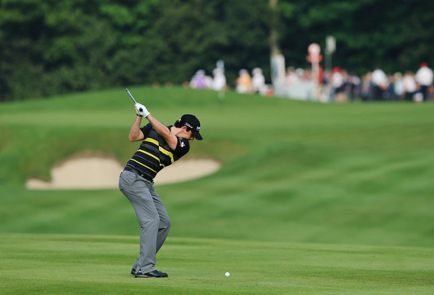 Rory McIlroy got off to a bad start with a two-over 74.