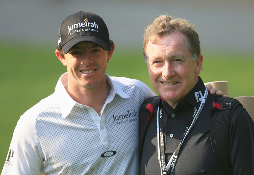 Michael Bannon has been McIlroy's coach since his junior days in Northern Ireland.