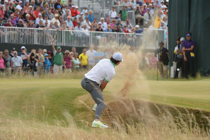 Rory McIlroy's struggles continued Thursday with an eight-over 79.