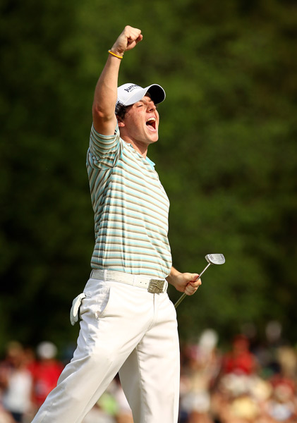 Thanks to a final-round 62, McIlroy won his first PGA Tour event at the 2010 Quail Hollow Championship.