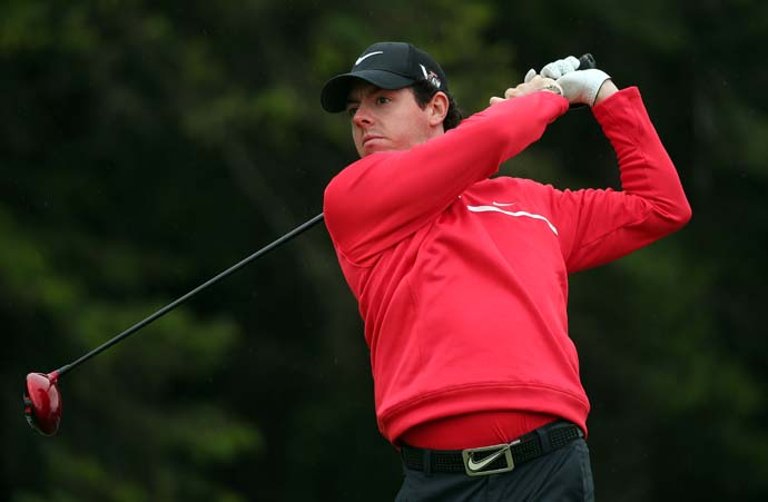 """Life has changed a little bit.  I remember getting kicked out of bars after missing the cut on the Friday night here because I wasn't old enough to drink.""                           --Rory McIlroy on how his life his different since his first Irish Open in 2005."