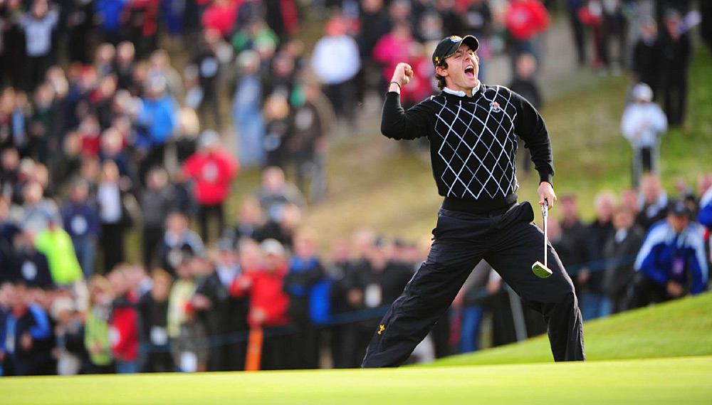 McIlroy made his Ryder Cup debut in 2010 at Celtic Manor and helped Europe defeat the U.S.