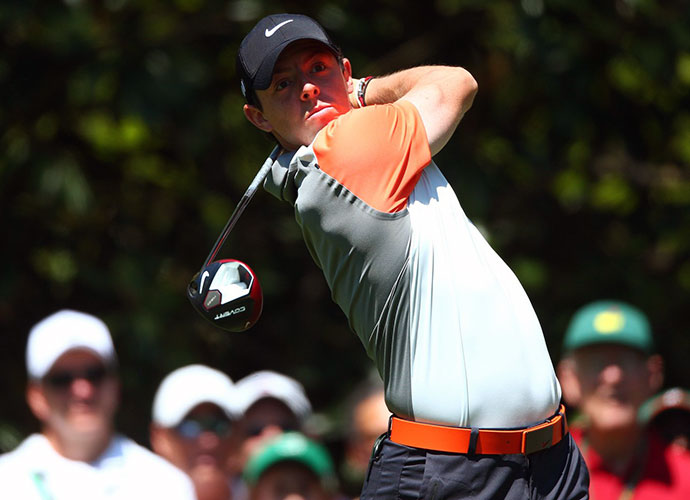 Rory McIlroy made bogey at 18 but still opened with a 1-under 71, tied for 12th.