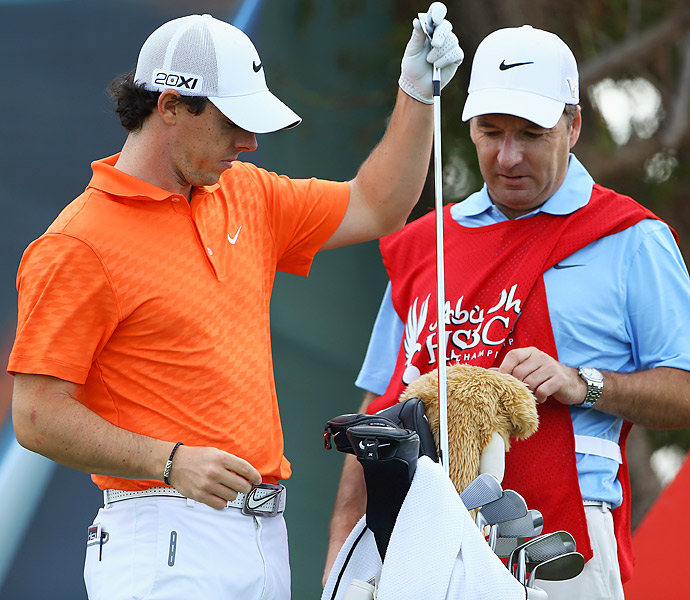 This will be the first tournament that McIlroy will use his new all-Nike clubs.