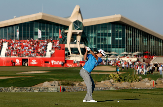 Justin Rose birdied the 18th to extend his lead to two shots.