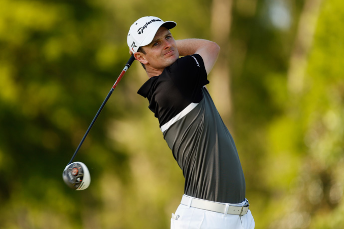 Justin Rose is five shots back after a 69.