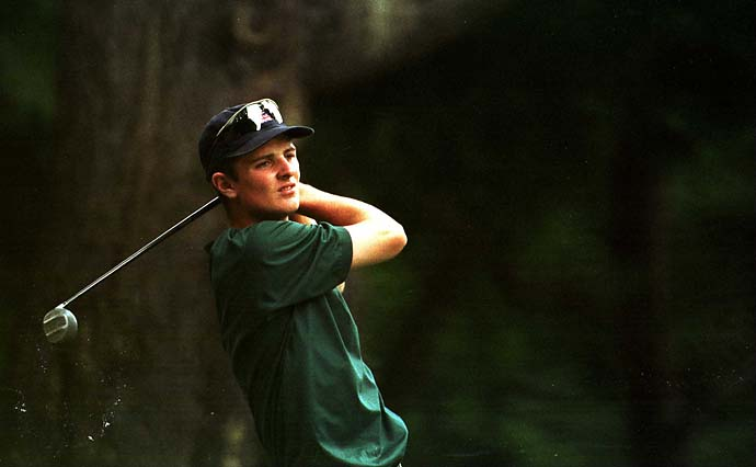 Justin Rose was only 17 years old when he played for Great Britain and Ireland in the 1997 Walker Cup at Quaker Ridge Golf Club in Scarsdale, N.Y. Rose went 2-2 for the losing side that year.