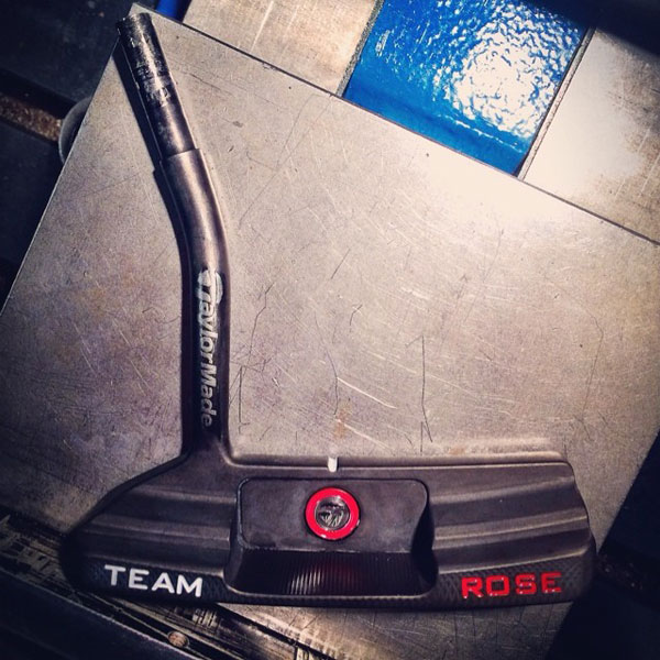 @JustinPRose: Just received this creation from @TaylorMadegolf and@sghostputter! US open is just around the corner, should I run a competition to Win a #TeamRoseCustom putter from the #TMGhostLab??
