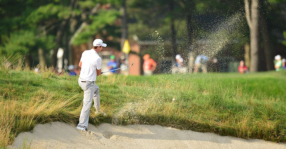Justin Rose opened with a 67, but he struggled to a 72 on Friday.