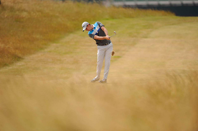 U.S. Open champion Justin Rose opened with a four-over 75.