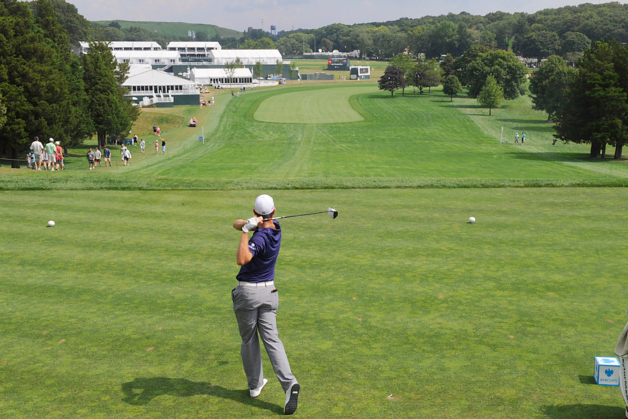 Justin Rose, currently in 12th place, could become a legitimate contender for the Cup with a win this week.