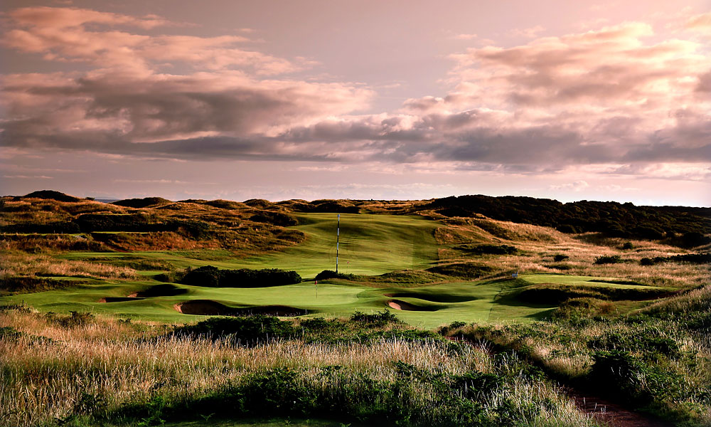 Portrush will commemorate the Open's return to Northern Ireland in 2019.