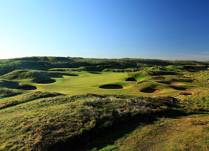 Royal Aberdeen Golf Club (Balgownie), Aberdeen [011-44-1224-702571, royalaberdeengolf.com]: The sixth-oldest club in the world, dating to 1780, Royal Aberdeen ranks just shy of the World Top 100, but its stock rose considerably after playing successful host to the 2011 Walker Cup. Undoubtedly, it will gain further scrutiny as the venue for the PGA European Tour's Scottish Open in 2014. Its humpy-bumpy seaside terrain, thorny gorse bushes that girdle the fairways and penal sand pits mix to form a formidable test.
