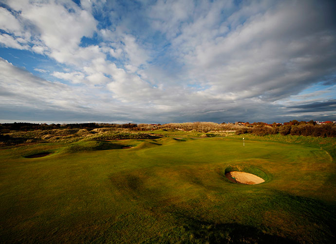 7. Royal Birkdale, Southport, England; Opens: 1954, 1961, 1965, 1971, 1976, 1983, 1991, 1998, 2008                           Praised by competitors as the fairest Open venue, Birkdale rolls through the Lancashire Coast with valley-type holes that run between the dunes, rather than up and over them. Arnold Palmer's strength and superb driving saw him through in the stormy 1961 event, while Johnny Miller's precise iron play brought him home during the dry, dusty 1976 tournament.