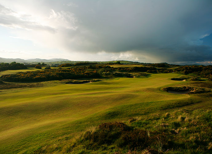 2. Royal County Down, Newcastle, Northern Ireland: Ranked No. 6 in the world, this 1889 Old Tom Morris creation is one of the most beautiful tests in the world, and one of the most brutal if the wind is up. Deep, bewhiskered bunkers, prickly gorse bushes and views of the Irish Sea are highlights.