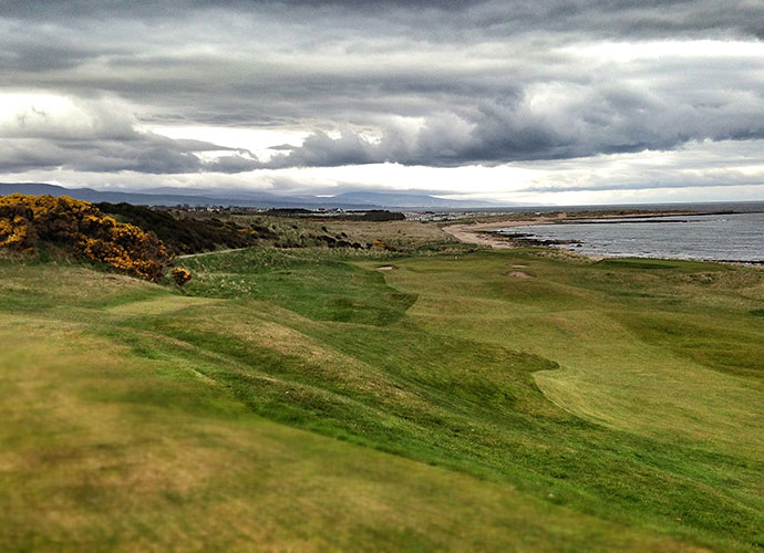 "4. Royal Dornoch (Championship), Dornoch, Scotland: Labeled for years as ""too remote,"" this 14th-ranked Old Tom Morris classic is worth the journey. After Tom Watson played here prior to his Open defense in 1981, he remarked that the experience was ""the most fun I've ever had a on a golf course."" Donald Ross grew up here and you can see his affinity for Dornoch's raised plateau greens on his American masterpiece, Pinehurst No. 2."