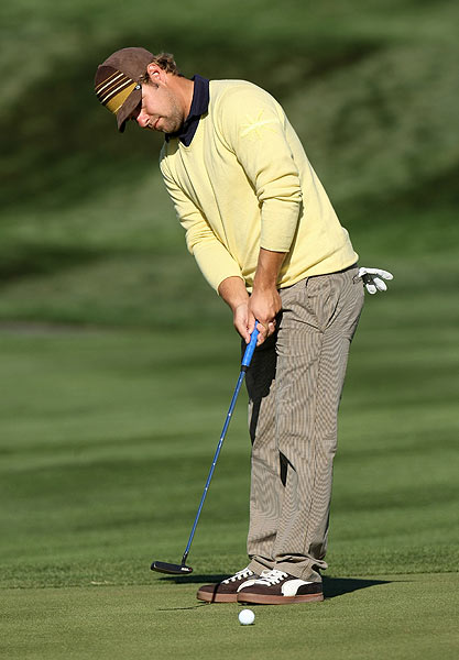 Ryan Moore's second-round 67 moved him up the leaderboard on Friday.
