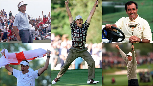 Wild finishes are a staple of recent Ryder Cup matches, but some stand out more than others. Heroic or heartbreaking, here are the ten greatest events in Ryder Cup history.