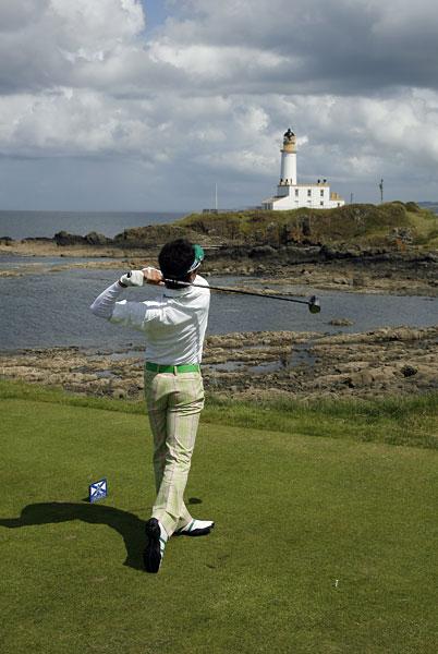 Ishikawa, 17, won the Mizuno Open on the Japan Golf Tour to qualify for the British Open.