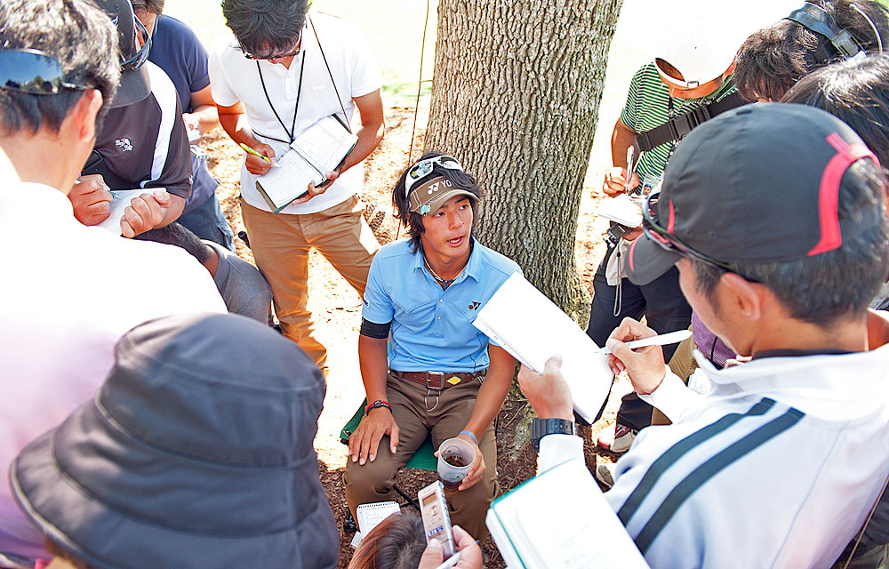 Ryo Ishikawa gained world-wide attention when he pledged all of his earnings from the 2011 season to relief efforts in Japan.