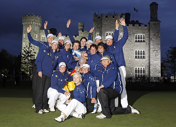 The European team defeated the United States, 15-13, to win the Solheim Cup for the first time since 2003.