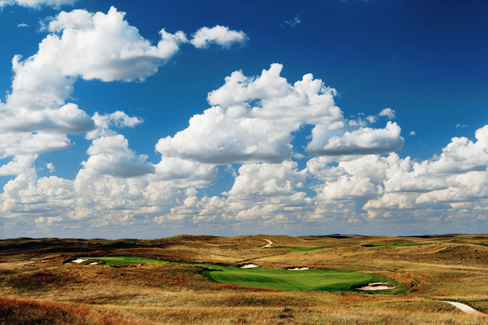 "SAND HILLS (No. 9 U.S.; No. 12 World)                           Drive a long way from nowhere, then drive a little farther. Eventually, you come to this aptly named stunner, the original player in the ""remote golf"" game. It's not quite so hard to access if you've got a private jet. And if you don't? Well, you're not the type they really want here anyway."