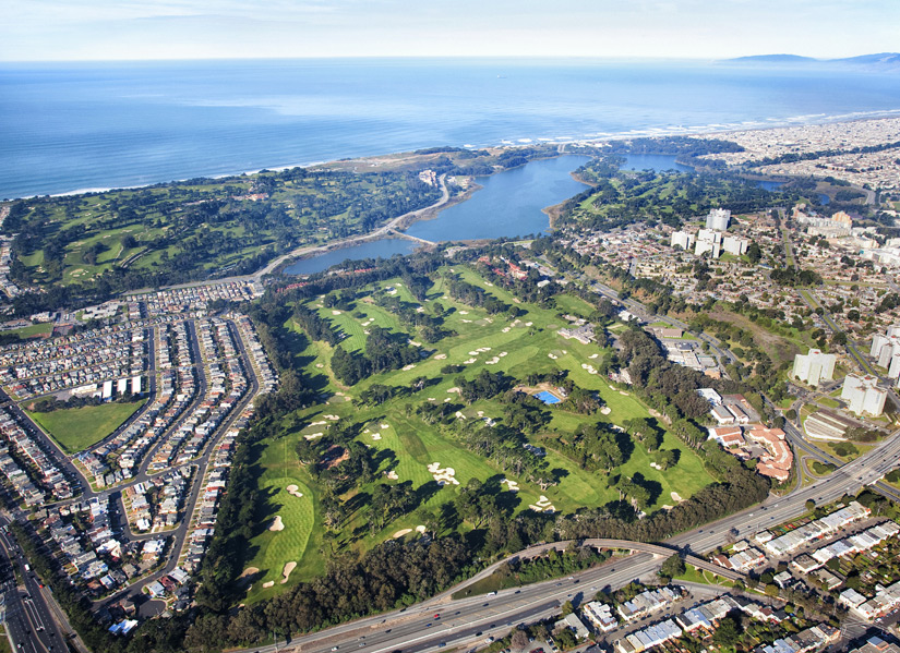 San Francisco Golf Club -- San Francisco, Calif.                       The Internet boom has birthed a zillion millionaires in San Francisco, but you won't find any of them at this old-money club. Bloodlines, not bankrolls, are what matter here, at an A.W. Tillinghast-designed redoubt whose entrance is so discreet (it's tucked beside a freeway, down a narrow drive, behind a church) that members themselves have been said to get lost while trying to find it.