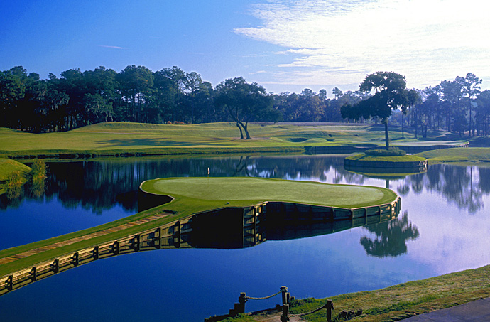 "TPC Sawgrass (PLAYERS Stadium)                       Ponte Vedra Beach, Fla.                       tpc.com                                              Pete Says: ""The island green at the 17th made me realize that we had created a hole that was planted in the player's mind from the very first tee."""