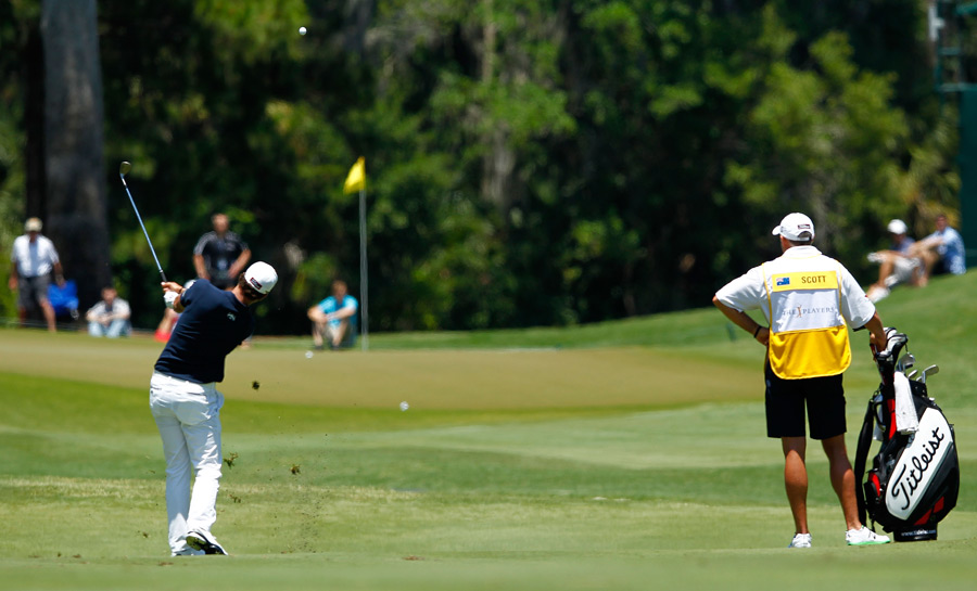 Adam Scott fired a four-under 68.