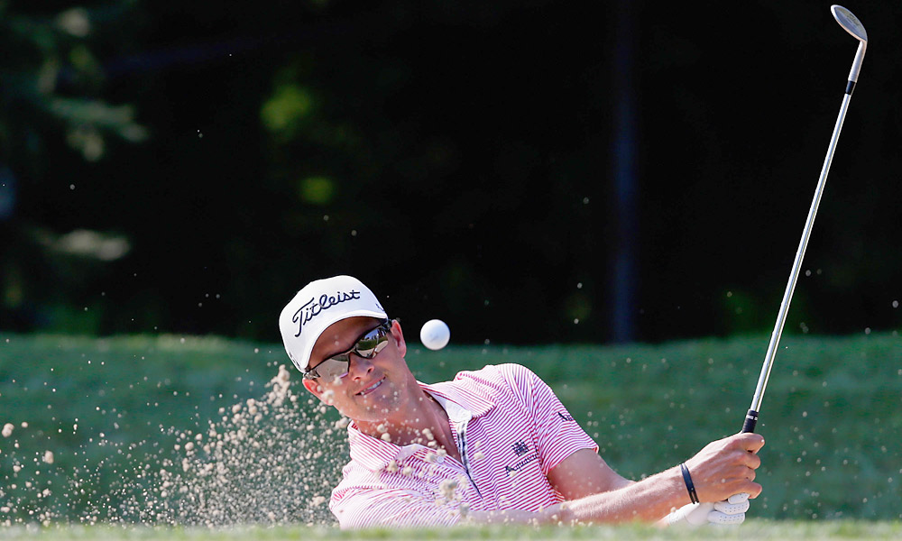 Adam Scott struggled to a 75 on day one.