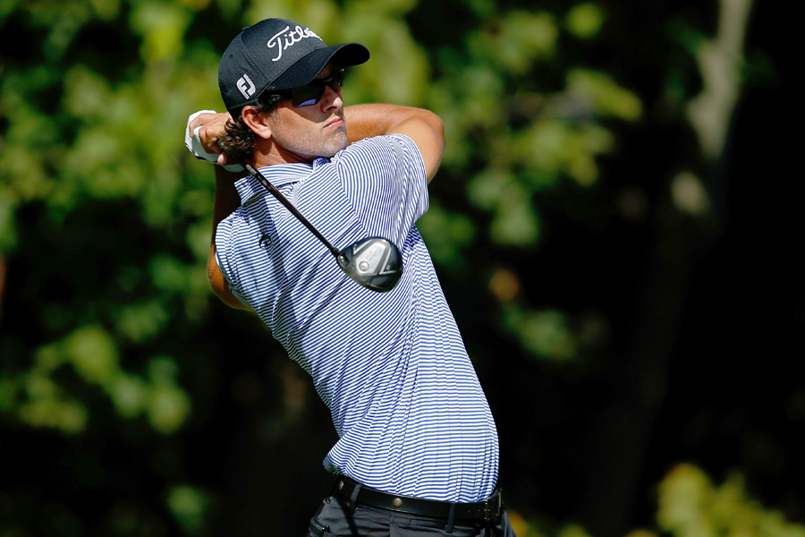 Adam Scott is only three behind after a 6-under 66.