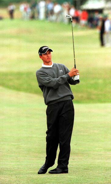 A 19-year-old Adam Scott missed the cut in his Open Championship debut at St. Andrews in 2000.
