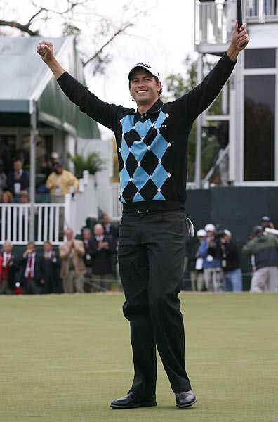 At the age of 23, Scott became the third-youngest player (after Woods and David Duval) to win the TOUR Championship.