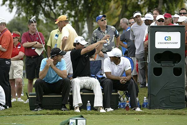 Scott found himself in good company during the third round of this year's CA Championship, playing with Tiger Woods and the eventual champion, Geoff Ogilvy. Scott finished T9.