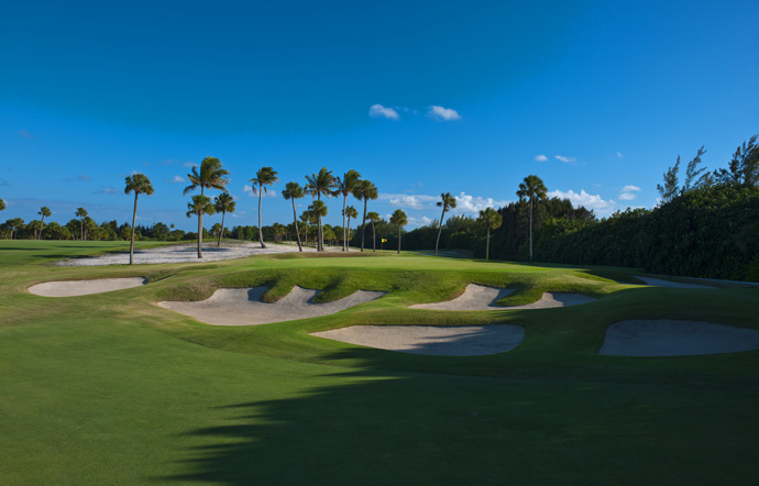 SEMINOLE (No. 14 U.S.; No. 22 World)                           The good news is the club reserves two tee times a day for unaccompanied play. The bad news is there are only 300-or-so under the radar members. Jack Nicklaus isn't one of them; word is he tried to join only to get shot down. Throw in the fact that the course is closed for nearly half the year, and what chance do we mortals have of playing it? Right around a snowball's chance in Florida.