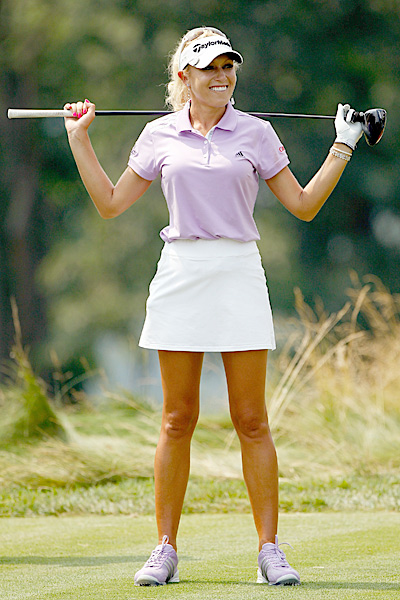 Natalie Gulbis, 27, golfer, LPGA Tour                       She's won just one LPGA event, so there are plenty                       of players with more game. But better looks                       and marketability? Hardly. Gulbis has 16 sponsors, a                       modeling career and the ultimate branding vehicle: her own reality show.