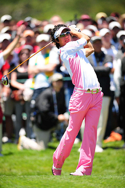 Ryo Ishikawa, 19, golfer, Japan Golf Tour/PGA Tour                       The Bashful Prince, as they call him, has won eight                       times on the Japanese Tour, the first W coming at                       age 15, and earlier this year shot a 58 in competition.                       Seems destined to be a star on the international level                       à la Isao Aoki and Jumbo Ozaki, and maybe snare                       Japan's long-sought first men's major championship.