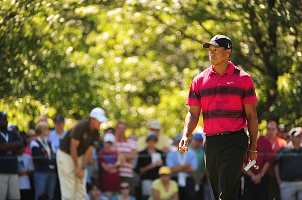"Tiger Woods, 34, golfer, PGA Tour                           It has been a year he'd love to forget, though                           a recent Harris Poll showed he's still tied                           as the most popular athlete in America with                           Kobe Bryant. Dubious company, for sure, but a                           big indicator that really all Tiger needs to do                           to regain his standing with the public is, in                           the words of Al Davis, ""Just win, baby."""