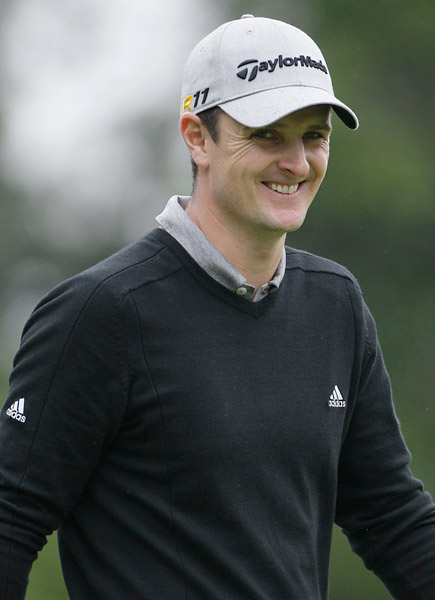 Justin Rose began the final round with a four-shot lead and nearly lost all of it on the back nine.