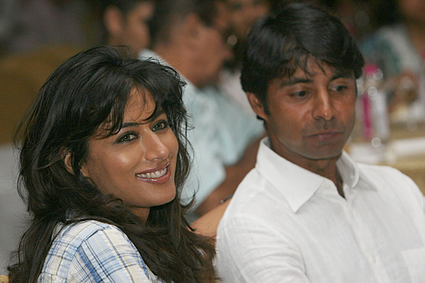 "Jyoti Randhawa and Chitrangada Singh                                              Adam Scott has nothing on Jyoti Randhawa. The Indian golfer, ranked 344th in the world, is married to Indian movie actress Chitrangada Singh. Jyoti has won eight times on the Asian Tour and has finished second at the 2004 Johnnie Walker Classic on the European Tour. Chirangada, who won the Bollywood Movie Award for Best Debut in 2005, told The Times of India that the media doesn't much bother her at her husband's golf events. ""The golfing media is too involved about the golfers and their game,"" Chirangada said."