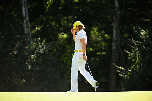 """""""It's awesome to be here,"""" said Villegas. """"Hopefully, it's the first of many."""""""