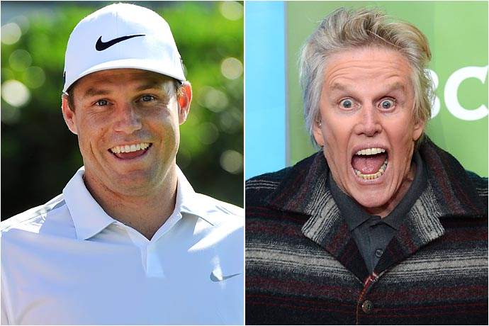 Nick Watney and Gary Busey