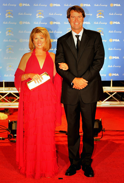 USA team captain Paul Azinger and wife Toni.