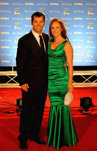 Paul Casey and Jocelyn Hefner.